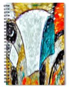 Faces Come Out Of The Rain ... Spiral Notebook