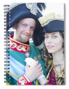 Faces Of St. Petersburg Spiral Notebook