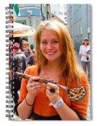 Faces Of Tallinn Estonia Spiral Notebook