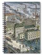 Factories: England, 1879 Spiral Notebook