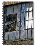 Factory Air In New Orleans Spiral Notebook
