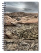 Faded Painted Hills Spiral Notebook