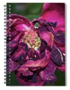 Fading Bloom Spiral Notebook