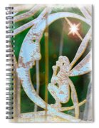 Faery Moon Spiral Notebook