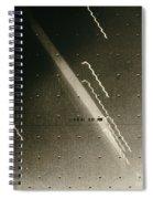 Faint Ring Around Planet Jupiter Spiral Notebook