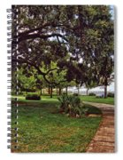 Fairhope Lower Park 2 Spiral Notebook