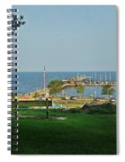 Fairhope Pier 2012 Spiral Notebook