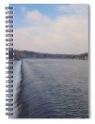 Fairmount Dam And Boathouse Row - Philadelphia Spiral Notebook