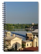 Fairmount Waterworks And Dam Spiral Notebook
