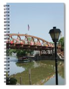 Fairport Lift Bridge Spiral Notebook