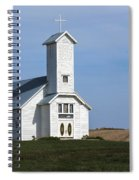Faith On The Prairie Spiral Notebook
