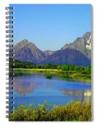 Fall At Oxbow Bend Spiral Notebook