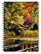 Fall At Tyler State Park Spiral Notebook