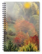 Fall Colours Spiral Notebook