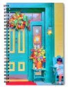 Fall Decorations Spiral Notebook