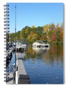 Fall Fishing Break Spiral Notebook