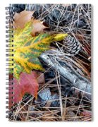 Fall Forest Floor Spiral Notebook