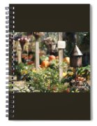 Fall Garden Spiral Notebook