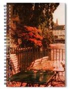 Fall In Lucerne Switzerland Spiral Notebook