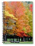 Fall In Michigan Spiral Notebook