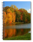 Fall In New York State Spiral Notebook