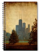 Fall In The City Spiral Notebook