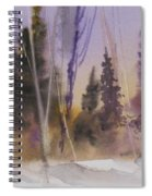 Fall In The Country Spiral Notebook