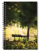 Fall In The Pines Spiral Notebook