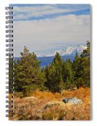 Fall In The Sierra Spiral Notebook