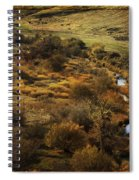 Fall In The Valley Spiral Notebook