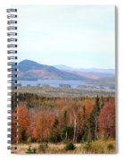 Fall Landscape Spiral Notebook