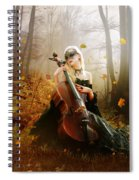 Fall Melody Spiral Notebook
