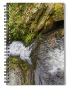 Fall Of Water Spiral Notebook