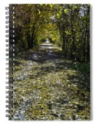 Fall On Macomb Orchard Trail Spiral Notebook