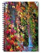 Fall Palette Spiral Notebook