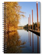 Fall Pier Spiral Notebook