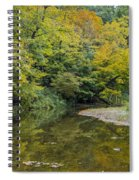 Fall Reflection Pool Spiral Notebook
