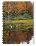Fall Reflections Spiral Notebook