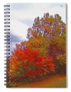 Fall Retreat Spiral Notebook