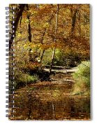 Fall River Colors Spiral Notebook