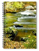 Fall Squared Spiral Notebook