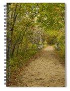 Fall Trail Scene 23 Spiral Notebook