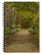 Fall Trail Scene 24 Spiral Notebook
