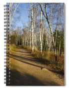 Fall Trail Scene 35 B Spiral Notebook