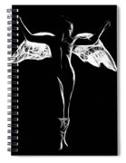 Fallen Angel 2 Spiral Notebook