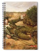 Fallen By The Wayside Spiral Notebook