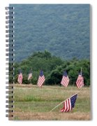 Fallen Soliders Spiral Notebook