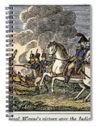 Fallen Timbers Battle Spiral Notebook