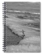 Falling For The Sea Spiral Notebook