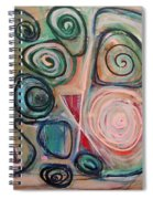Falling Hours Spiral Notebook